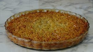 almond pie, delicious dessert, tarte de amendoa